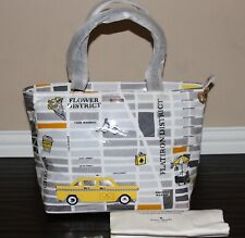 ❤️ Kate Spade Yellow Taxi Cab New York City Francis Shoulder Tote Bag NWT