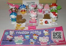 """Komplettsatz """"Hello Kitty"""" mit allen deutschen Beipackzetteln"""