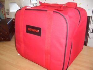 BRAND NEW ONE  BERNINA RED  OVERLOCKER CARRYING  STORAGE   BAG