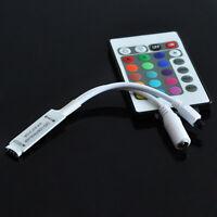 New 12V 6A Mini 24Key IR Remote Controller For RGB 3528 5050 LED Lights Strip US