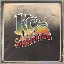 KC AND THE SUNSHINE BAND - (Self Titled Vinyl LP) TK603