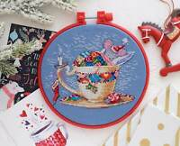 Counted Cross Stitch Sleeping Mouse