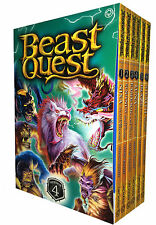 Beast Quest Series 4 Collection Adam Blade 6 Books Set Pack 19 to 24 PB