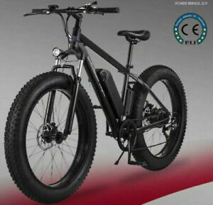 Electric Bicycle Snow Fat Tyre EBike *500W* *48V* *12Ah*