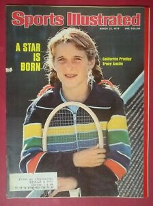 1976 Sports Illustrated March 22 Tennis A Star is Born Tracy Austin California