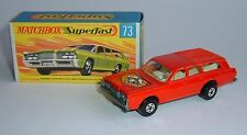 Matchbox Superfast No. 73, Mercury Commuter, - Superb Mint.