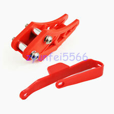 High Performance Red Chain Guard Guide Slider Protector For Suzuki Dirt Pit Bike