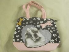 NWT C. Marie Collection Dog Purse Shoulder Bag super cute ~ 1887