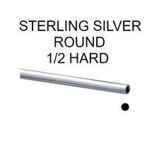 925 Sterling Silver Wire Half Hard Round Wire Different Gauges & Lengths Medium