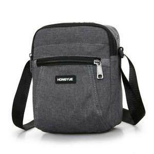 Men's Messenger Bag Crossbody Shoulder Bags Travel Man Purse Small Sling Pack