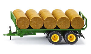 SIK2891 - Trailer Plateau Fourragère 2 Axles And 15 Balls Round
