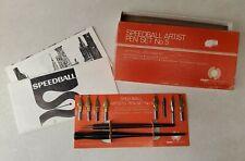 Vintage Speedball Artist Pen Set No. 5 Fountain Pen Calligraphy Set Original Box