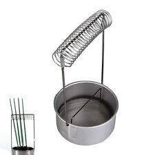 """Stainless Steel Art Artist Paint Brush Washer Cleaner Bath Spring Holder 4"""""""