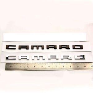 BRAND NEW 2X for CHEVROLET CAMARO EMBLEM BADGE NAMEPLATE 2010-2015 22752666