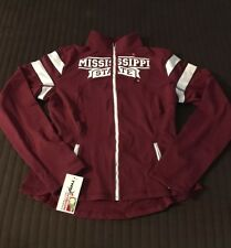 Mississippi State Bulldogs Twins Vision Activewear Yoga Track Jacket Large
