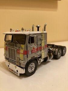 Franklin Mint 1/32 Freightliner Cabover Diecast Truck rebuilt