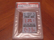 July 24, 1977 Orioles vs Brewers Murray HR 14 Drago W #80 Stub PSA Cert