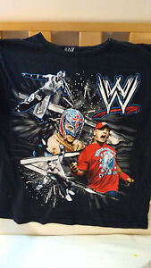 WWE Superstars Shirt  John Cena Mysterio 14/16