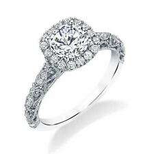 Round Cut Cubic Zirconia Rings Size 8 Fashion 925 Silver Wedding Rings For Women
