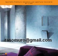 Sportello Filomuro rasomuro con apertura linvisibile 67 x 100