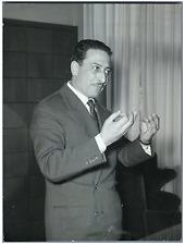 Italia, Professor Giuseppe Sabatini, avvocato  Vintage silver print Tirage arg