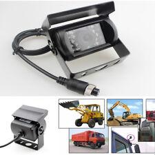 18 LED IR Night Vision Car Rear View Reverse Backup HD Camera Waterproof 12V/24V
