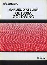 (27A) REVUE TECHNIQUE MANUEL ATELIER MOTO HONDA GL1800A GOLDWING (supplément)