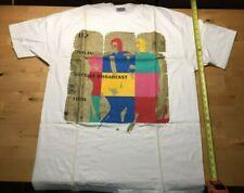 Vintage U2 ZooTv Outside Broadcast T-shirt Hanes Beefy-T Xl New