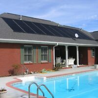 Solar Flat Panel Heater For Above Ground Swimming Pools