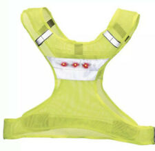 New- Nathan LED Lighted Reflective Runners Cycling Walking Mesh Vest L/XL