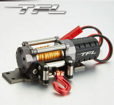 TFL Racing Crawler Alloy Heavy Duty Winch for Axial SCX10 D90 Wraith Body