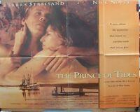 Barbra Streisand Nick Nolte THE PRINCE OF TIDES(1991)Original UK movie poster