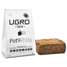Growing Media Peat / Dehydrated Coco Coir Brick U-Gro Pot9 Rhiza (900g-9L)