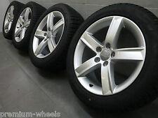 17 Zoll Winterräder original Audi A4 S4 B8 8K Winterreifen 8K0071497 7,5-8,0mm