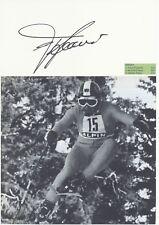 Franz Klammer  Österreich  Ski Alpin Karte original signiert WL 339858