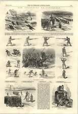 1853 Chasseurs de Vincennes Disfraz mejorado carabina