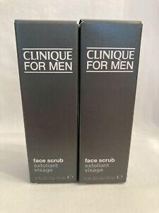 Clinique For Men Face Scrub 15ml x2