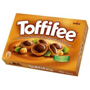 (12,30€/1kg) Storck Toffifee 48er, Praline, Schokolade, 400g Packung