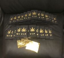 VIP 24K Gold Shine Papers Rolling Papers King Size - 2 SHEET PACK