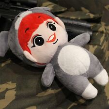 "Kpop Stars EXO-K Park ChanYeol 8"" Red Hair Stuffed Doll Kids Plush Toys Handmade"
