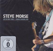 Steve Morse (Deep Purple) / Live in New York + Cruise Control (CD+DVD , NEW!)