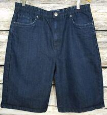 """Akolatronic Denim Shorts Dark Blue Men's 36 (34"""" Waist)  B3"""