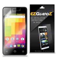 2X EZguardz Clear Screen Protector Shield HD 2X For Nuu Mobile A1