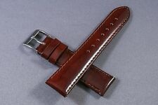 Woman 18mm Brown Patent Genuine Leather Watch Band,Strap,Interchangeable,SHINY
