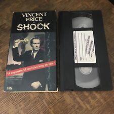SHOCK (1946) VHS 1985 vincent price MURDER THRILLER suspense LYNN BARI must have