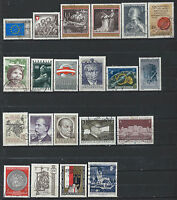 Autriche Lot 21 timbres Obl (FU) 1969 - 70 (lot 4)