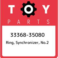 33368-35080 Toyota Ring, synchronizer, no.2 3336835080, New Genuine OEM Part