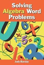 Solving Algebra Word Problems