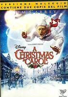 A CHRISTMAS CAROL (2009)di Robert Zemeckis - DVD SINGOLO EX NOLEGGIO WALT DISNEY