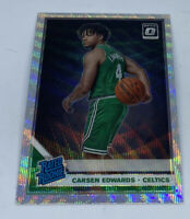 2019-20 Optic CARSEN EDWARDS Fanatics Silver Prizm Wave SP RC RATED ROOKIE